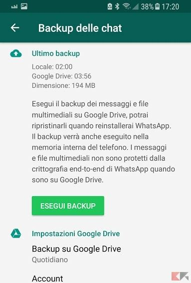 backup whatsapp android come installare whatsapp chimerarevo