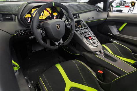 Lamborghini Aventador Inside by Verde Ithaca 2017 Lamborghini Aventador Sv Roadster Sold