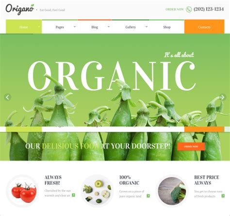 Organic Template