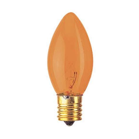bulbrite 7c9ta 7 watt incandescent c9 christmas light