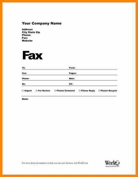 blank sheet template for word 8 blank fax cover sheet template word resumed