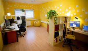 home office design ideas yellow color olpos design