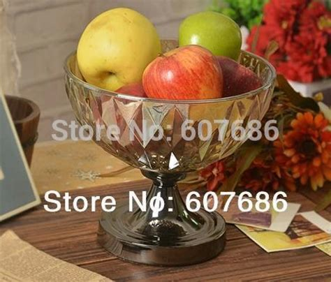 Thinking About Fruits Tin Glasses 1 vintage glass fruit bowl basket with metal pedestal fruit display serving home hotel restaurant