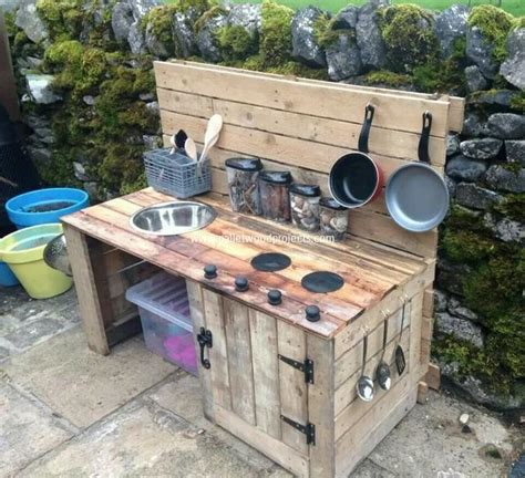 build outdoor with pallets recycled pallet wood outdoor kitchen pallet wood projects