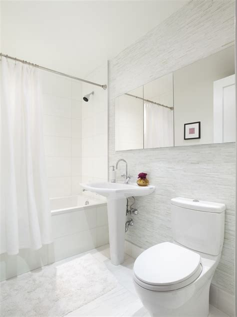 White Bath Bath Design White Bathrooms Monochrome Color Home