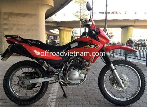 motocross bike hire honda honda xr125 150 150cc hire in hanoi offroad