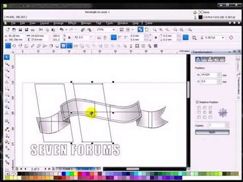 tutorial corel draw x5 romana fit text to path tutorial coreldraw x5 youtube flv youtube