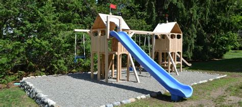 how much do swing sets cost pea gravel for playgrounds prices depths safety guidelines