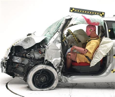 fiat 500 crash test results 201 tude iihs 2014 les citadines une r 233 alit 233 alarmante