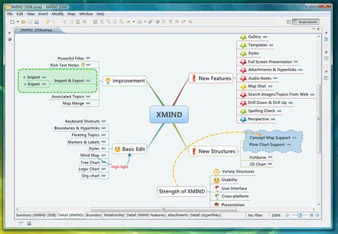 free mapping software xmind mindmap software