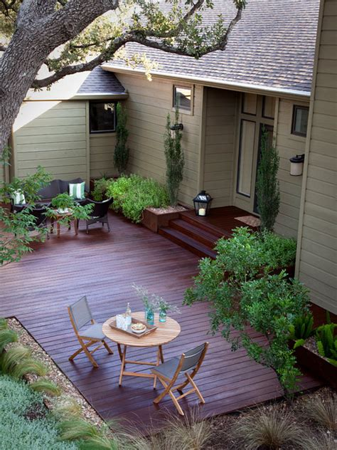 Backyard Ideas On Houzz Cat Mountain Traditional Deck By