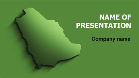 Ksa Template by Free Saudi Arabia Map Powerpoint Template And