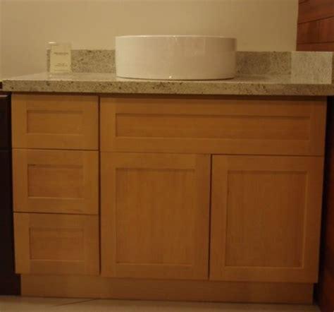 Maple Bathroom Vanity Cabinets Kraftmaid Cognac Maple Kitchen Or Bathroom Vanity Sink Maple Wood Bathroom Vanity Cabinet