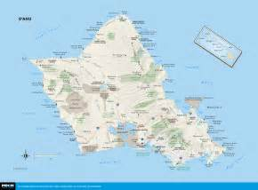 printable travel maps of o ahu moon travel guides
