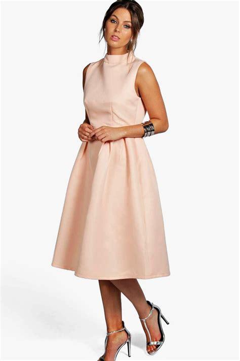 Dress Nevk sana boutique high neck prom dress at boohoo