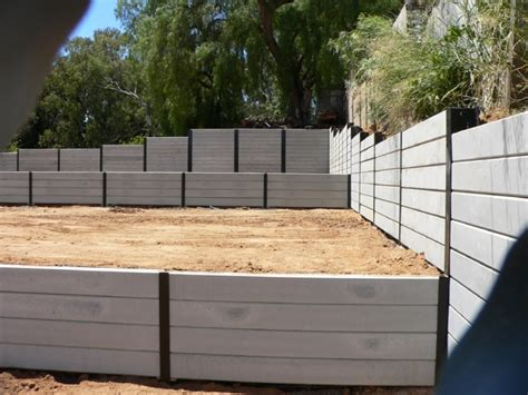 Concrete Sleeper Retaining Wall Design by Retaining Walls Retaining Retaining Walls Retaining
