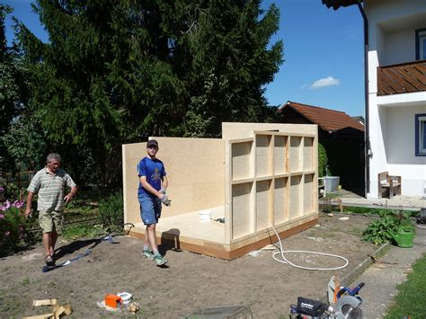 fundament für garage dekoideen 187 fundament f 252 r gartenhaus selber bauen