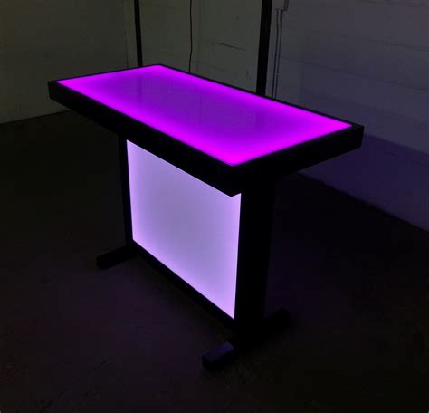 Led Tables by Barchefs