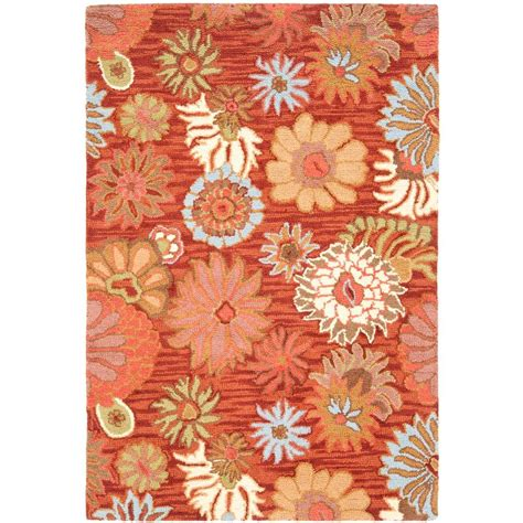 Safavieh Blossom Rug Safavieh Blossom Multi 4 Ft X 6 Ft Area Rug Blm731b 4 The Home Depot