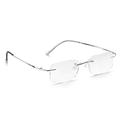 buy read optics mens and womens silver memory flex