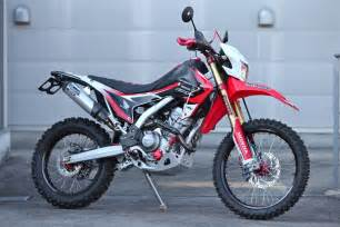 Honda crf250l customize by dirtsports