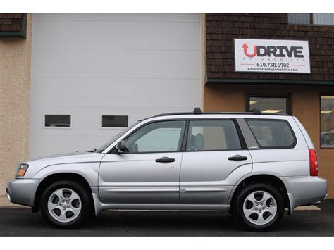 2003 subaru forester engine used 2003 subaru forester xs for sale in west chester pa