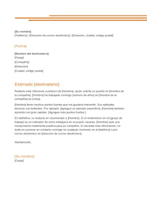 plantilla carta formal word 2007 receta office templates