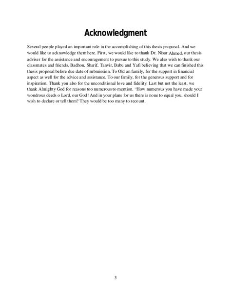 writing acknowledgements for a research paper research methodology paper