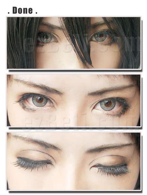 Make Up Kecantikan Lipstick Eren Kantong make up attack on mikasa eye makeup shops and