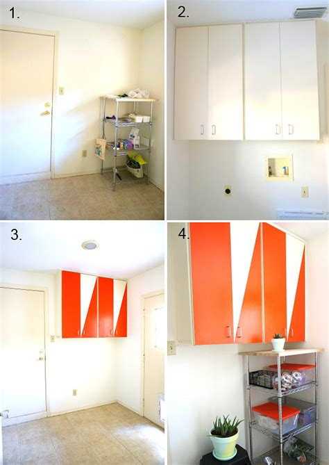 Diy Small Laundry Room Makeover by A Diy Laundry Room Makeover