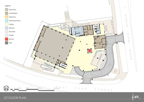 floor plan of a mosque al ansar mosque ong ong pte ltd archdaily