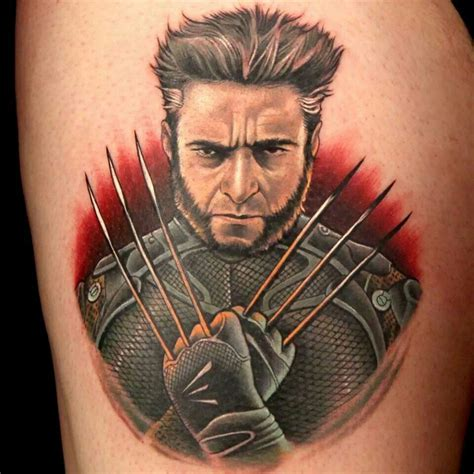 scott marshall tattoo marshall contestant on ink master wolverine