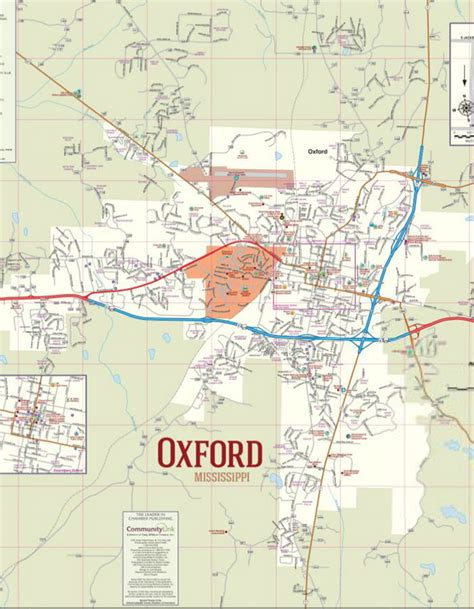 ole miss cus map oxford mississippi oxford mississippi