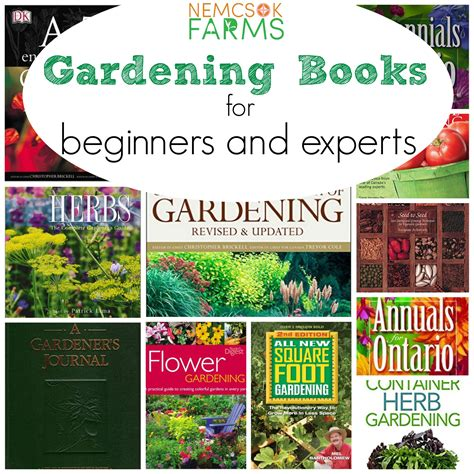 gardening books for beginners and experts nemcsok farms