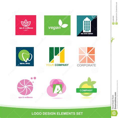 design elements by ultimate symbol logo icon design elements set stock vector image 64984369