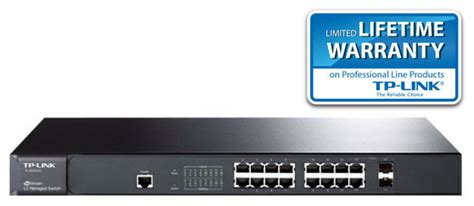 Tl Sg3424p Tplink Jetstream Switch 24 Port Gigabit L2 Managed Poe tp link jetstream tl sg3424p 24 port gigabit l2 managed poe switch with 4 combo sfp slots