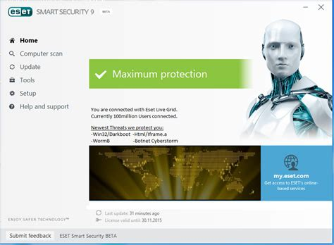Software Antivirus Eset Nod32 Smart Security 10 3 Pc 2 Tahun Terlaris eset smart security 9 and eset nod32 antivirus 9 ล งค เด ยวแรง ว นโดว และ