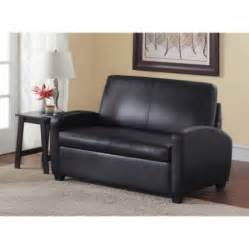 sofa chair walmart mainstays sofa sleeper black walmart
