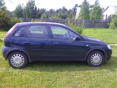 2004 Opel Corsa 1 4 Related Infomation Specifications