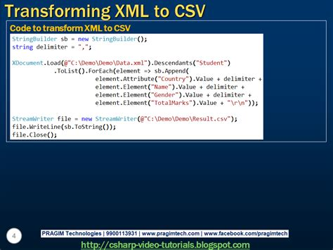 tutorial linq to xml sql server net and c video tutorial part 5