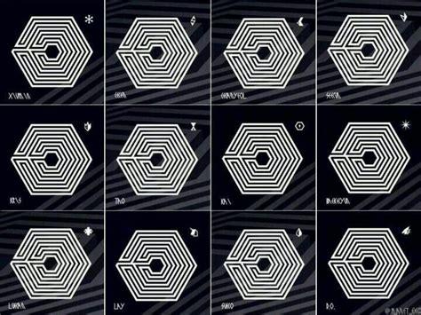 Notebook Kpop Exo Power Member Chen logo s for each member overdose exo kpop