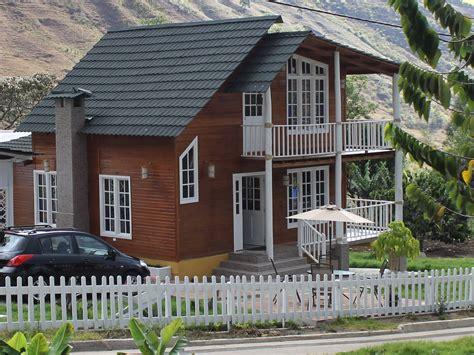 construcciones en madera casas gran como se sujetan las