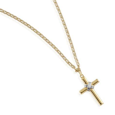 cadenas de oro para mujer imagenes cadena en oro con cruz para nio primera comunion
