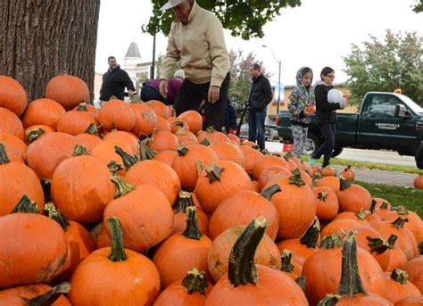 Libertyville Food Pantry by Paint Pumpkins Touch Trucks In Libertyville