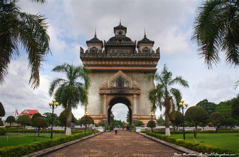 design center vientiane patuxai in vientiane laos travel photo