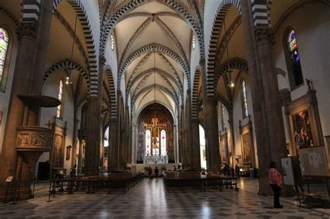 santa novella interno interno basilica foto di chiesa di santa novella