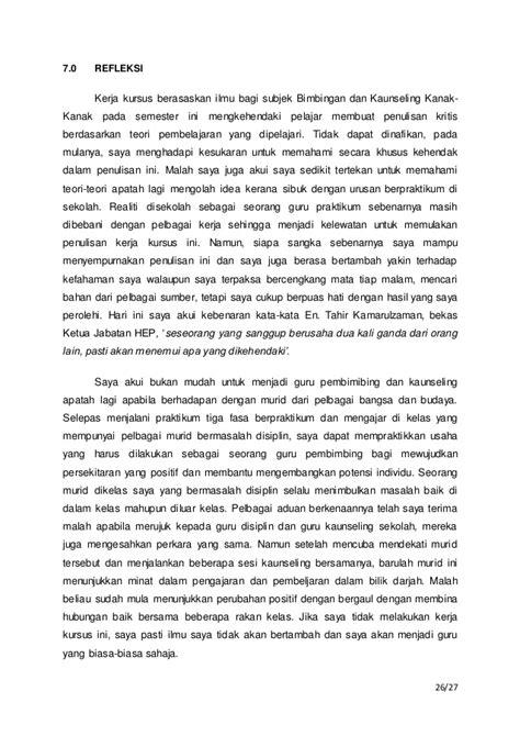 artikel format laporan konseling individu penulisan laporan sesi kaunseling individu