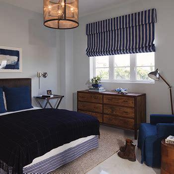 navy blue and brown bedroom striped boys room contemporary boy s room benjamin