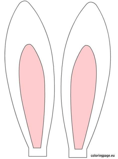 free printable bunny ears easter rabbit ears easter
