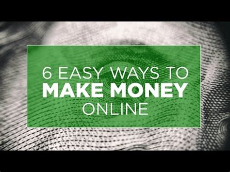 Easiest Ways To Make Money Online - 6 easy ways to make money online the bitcoin inspector